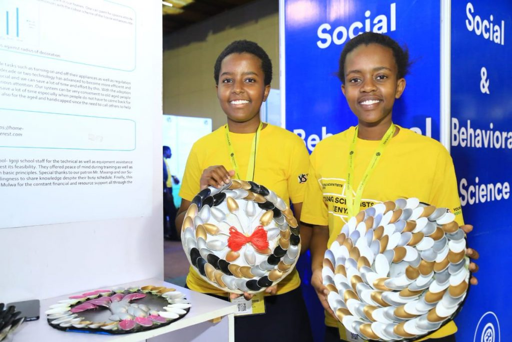 Abundance of raw talent evident as budding scientists get awards